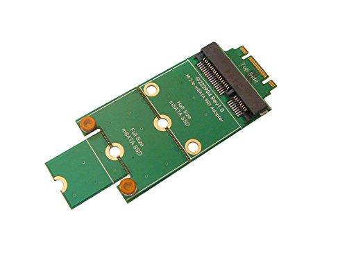 KALEA-INFORMATIQUE © - Adaptateur mSATA miniPCIe vers M.2 (NGFF) - Pour monter un SSD mSATA sur un port M.2