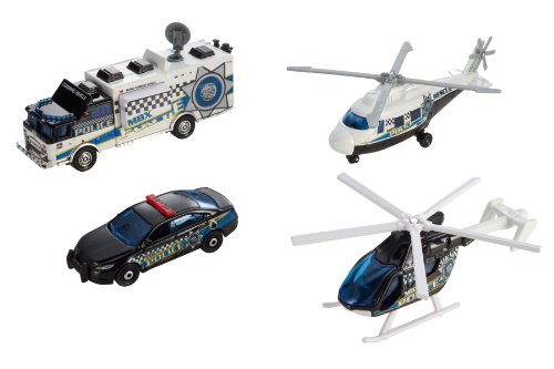 Matchbox Sky Busters Mission Force Crime Crew
