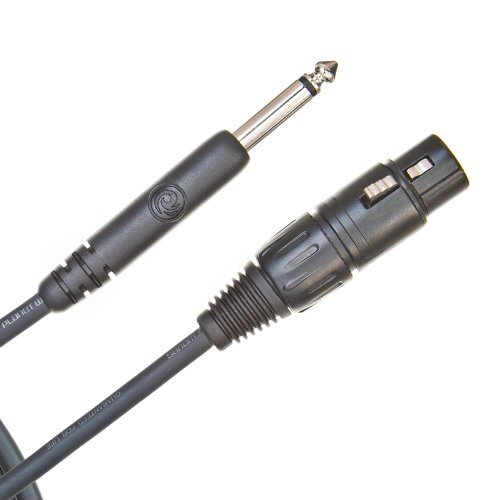 Planet Waves Classic Series Unbalanced Microphone Cable, Xlr-To-1/4-Inch, 25 Feet