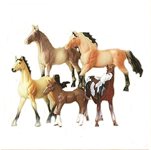 M & F Western Boys' Toy Horse Set Assorted One Size - 1