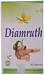 Amrutham Ayurveda Diamruth Capsules, Cream (Pack of 60 Capsules)