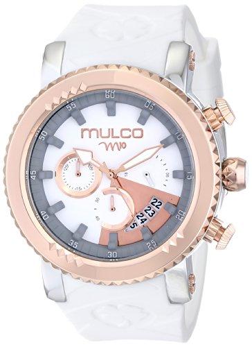 MULCO Unisex MW5-2870-013 Analog Display Japanese Quartz White Watch