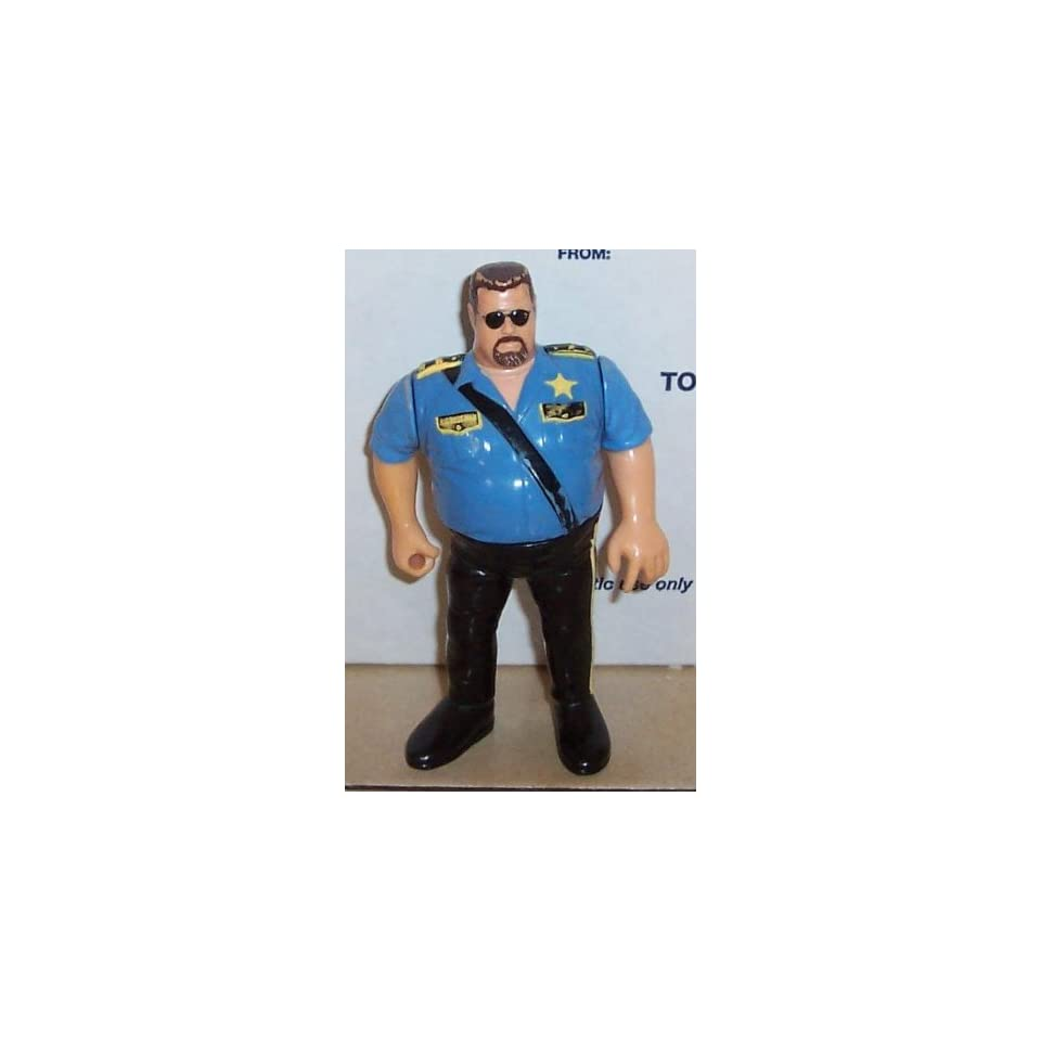 Wwf Hasbro Series 1 Big Boss Man Figure On Popscreen