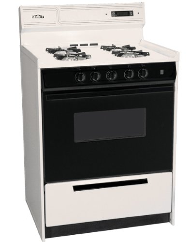 "Snm6307Cdfk 24"" Freestanding Deluxe Gas Range With Electronic Ignition Sealed Burners And Digital"