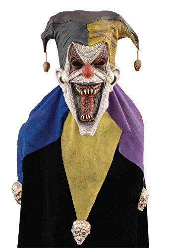 Forum Novelties Men's Evil Jester Full Mask