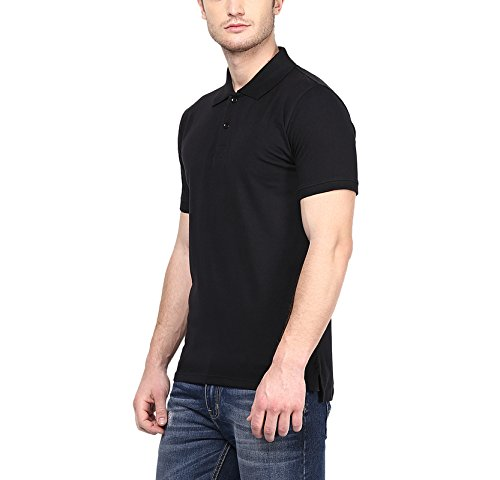 American-Crew-Mens-Polo-Solid-T-Shirt