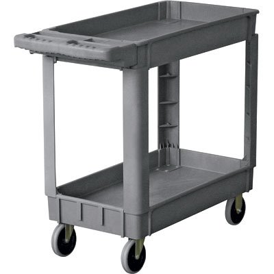 Northern Industrial Structural Foam Service Cart - 500-Lb. Capacity