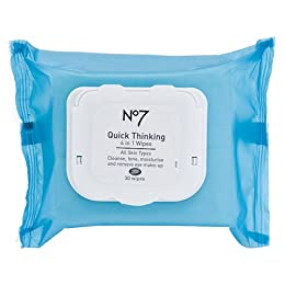 Boots No7 Quick-Thinking 4-in-1 Wipes 30 pk. : Target from target.com