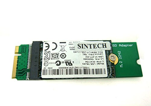 Sintech NGFF M 2 B+M Key SSD to 20+6Pin Adapter Card for Replace Sandisk  SD5SG2 SSD of Lenovo X1 Carbon Ultrabook