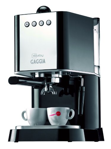 Gaggia 12101 New Baby Manual Espresso Machine, Black (Gaggia Valve compare prices)