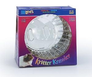 Lee's Kritter Krawler Exercise Ball, Standard, Clear - 7-Inch