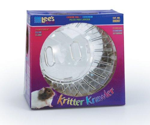 Lee's Kritter Krawler Exercise Ball, Standard, Clear – 7-Inch 416MchNuvNL