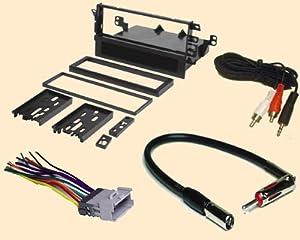 amazon.com: radio stereo install single din dash kit ... 1996 geo tracker radio wiring diagram chevy tracker radio wiring car