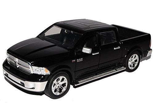 dodge-ram-1500-pick-up-schwarz-4-generation-ab-2009-ab-facelift-2014-1-24-jada-modell-auto-mit-indiv