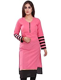 Kurti (Macube Women's Clothing Kurti For Women Latest Designer Wear Polyester Cotton Kurti Collection In Latest...