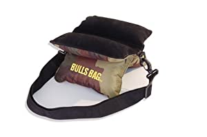 BULL BAG #1501-Field Camo Suede 9 Shooting Rest (Unfilled) by Bulls Bag