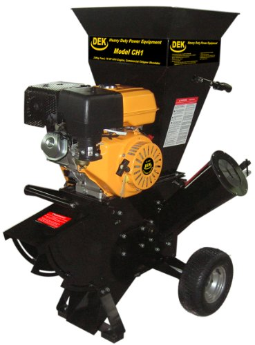 DEK 15 HP 420cc Commercial Duty Chipper Shredder (Gas Wood Chipper compare prices)