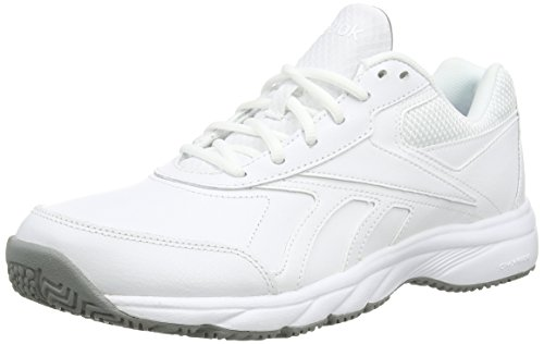 ReebokWork N Cushion 2.0 - Scarpe Sportive Outdoor uomo, Bianco (White (White/Flat Grey)), 43