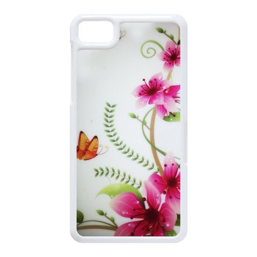 Generic Cell Phone Cases Cover For Black Berry Z10 Case Fashionable Art Designed With Beautiful Butterfly - K Personalized Shell front-995823