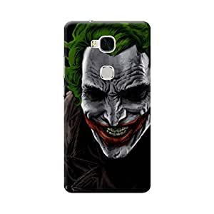 Aurmen High Quality Printed Designer Back Case Cover For Huawei Honor 5x (Joker5)
