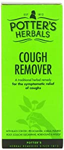 Potters 150ml Herbals Cough Remover
