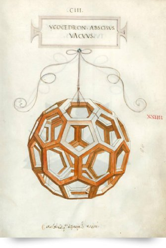 Truncated Icosahedron By Da Vinci (Giclee Art Print), The Fine Art Masters front-1031053