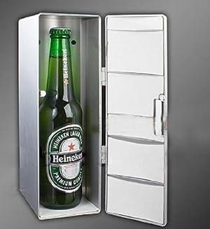 Mini USB refrigerator Beer/Coca-Cola MINI USB Fridge Refrigerator PC Desktop
