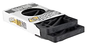 Sector 9 Shock Pads with 1/8-Inch Riser, Set Of 4, Black