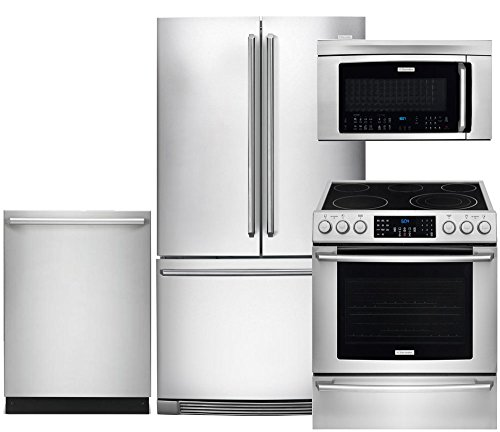 a stainless steel appliance package will make you elite