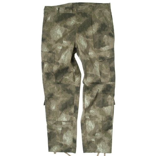 Army Combat Tactical ACU Cargo Trousers Mens Uniform Pants Ripstop A-TACS Camo