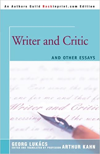 Writer critic and other essays online