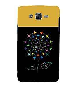 printtech Colored Flower Pattern Back Case Cover for Samsung Galaxy Core Prime G360