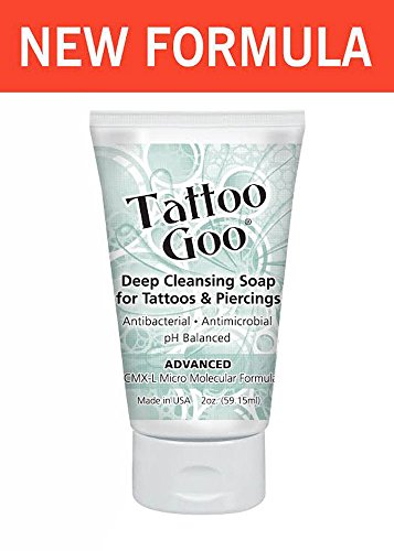 Tattoo goo aftercare kit includes soap new formula for Soap for new tattoo
