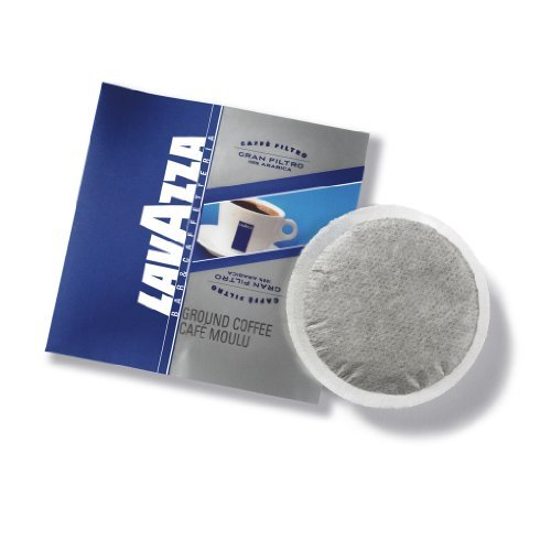 Lavazza Gran Filtro Coffee Pods, 9-grams (100 Pack)