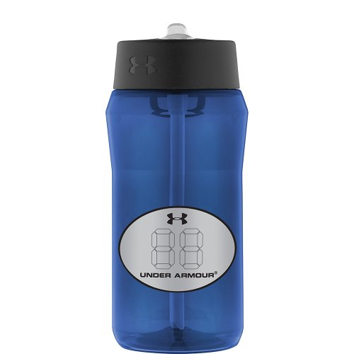 Under Armour Locker Tag Tritan Bottle, Navy, 18-Ounce front-1037217