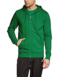 erima Herren Sweatjacke Hooded Jacket, Green, S, 207335