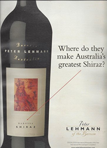 print-ad-for-2007-australian-peter-lehmann-barossa-shiraz-wine