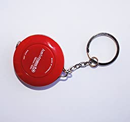 Fun Portable Hoechstmass Roller Tape Measures Red With Key Ring! 150cm 60in
