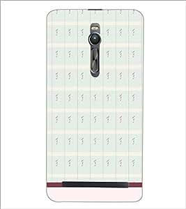 ASUS ZENFONE 2 PATTERN Designer Back Cover Case By PRINTSWAG