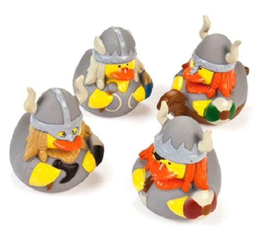 12 ct Viking Rubber Ducks