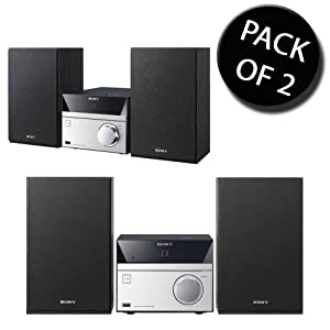Good price for  2x Sony CMT-S20CEK All In One Audio System With CD