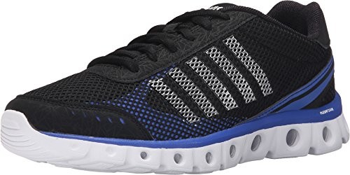 K-Swiss Men's X Lite Athletic CMF Black/Electric Blue/White Mesh Sneaker 9.5 D (M)