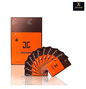 JAYJUN 3 Steps Real Water Black Facial Mask (10pcs) Refine to Shine