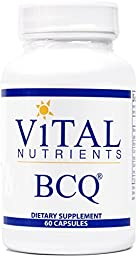 Vital Nutrients - BCQ (Bromelain, Curcumin & Quercetin) - Herbal Support for Joint, Sinus and Digestive Health - 60 Capsules
