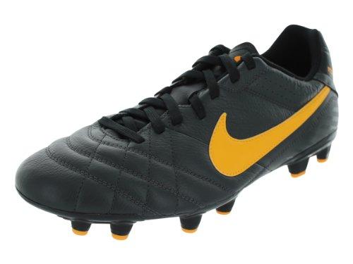 7da2d90a1b6a Discover Nike Men's Tiempo Natural IV Ltr FG Dark Charcoal/Laser Orange/Blk  Soccer Cleats 10 Men US