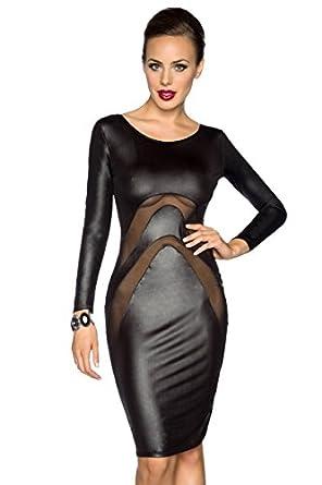 Amynetti Sexy Damen Kleid Cocktailkleid Partykleid ...