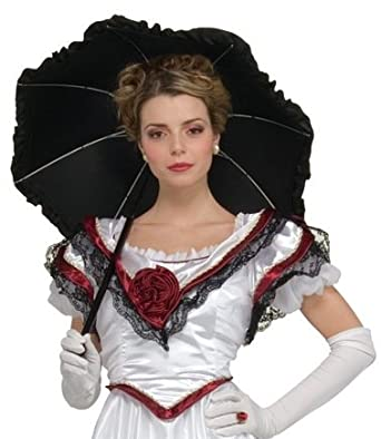 Amazon.com: New Southern Belle Pageant Black Parasol Fancy Umbrella 31