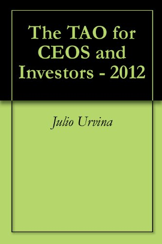The TAO for CEOs and Investors - 2012