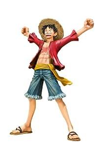 : Monkey D. Luffy Figuarts Zero Figure (New World Ver.): Toys & Games
