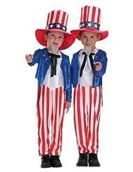 Child's Uncle Sam Patriotic Costume